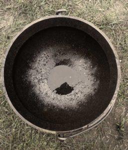 Large Cauldron - top