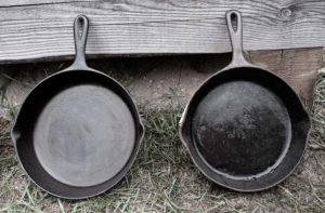 Refurbished Frying Pans